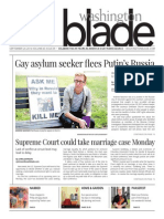 Washingtonblade.com, Volume 45, Issue 39, September 26, 2014