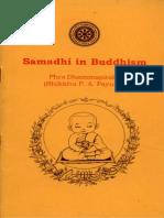 Samadhi in Buddhism