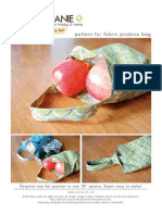 Fabric Bag Pattern