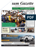 Platinum Gazette 26 September 2014