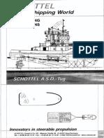 Schottel Manouvering Instructions