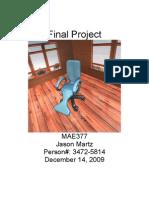 MAE 377 Final Project