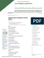 Hyperion Financial Management Interview Question