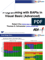 Programming With BAPIs in Visual Basic