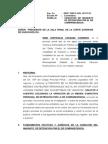 Variacion de Mandato de Detencion Por Comparecencia