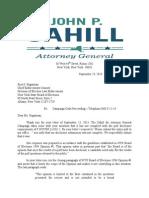 Cahill Boe Response
