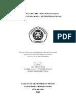 Program Audit PNBP