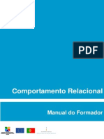 Comportamento Relacional - Manual Do Formador