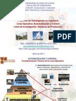 Linea de Investigacic3b3n Automatizacion y Control Para Computacic3b3n Lar 2011 i1