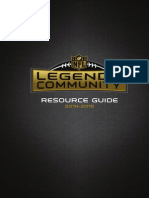 2014-2015 Legends Community Resource Guide