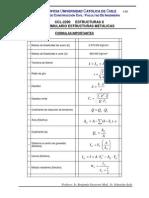 Formulario Estructuras Metálicas 2014