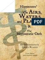Hippocrates on Airs Waters and Places - Hayes and Nimis June 2013