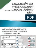 Localización Del Intercambiador Multimodal Puerto Seco