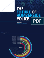 The Future of Humberside Police - One Team - Making a Difference