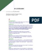 TRAZEGNIES LEOPOLDO de - Diccionario Literario de Terminos Infrecuentes