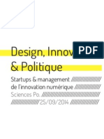 """Design, Innovation & Politique"" par Ryslaine Moulay"