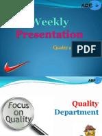 Weekly Presentation - DIAN