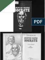 Xenofon Amintiri Despre Socrate