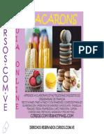 Macarons Historia y Receta Basica