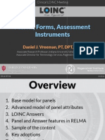 2014 09 - LOINC Tutorial - Panels, Forms, and Assessments