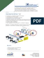 DAPview HMI Brochure