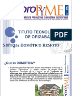 Sistema Domótico Remoto