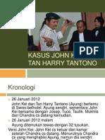 Kasus John Kei – Tan Harry Tantono