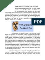 Merrill Bulls Triumph in the TCS President