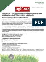 2014-09-11 Los nuevos profesionales de la Industria Minera del Perú (Mining Press Perú).pdf