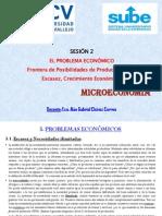 Microeconomía - Sesión (2)