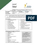 avid outline  supply list belmont ed  2014