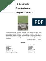 Erico Verissimo - O Tempo e o Vento 1 - O Continente
