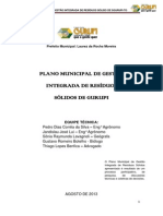 Plano Municipal Residuos Solidos Gurupi-To (1)