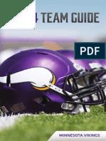 Minnesota Vikings 2014 Media Guide