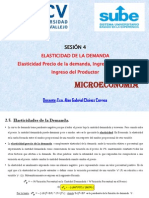 Microeconomía - Sesión (4)