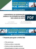 2014_Encontro Pratica - Disseminacao Pratica e Extensao
