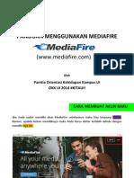 Panduan Menggunakan Mediafire