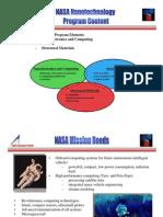 Nasa Nanotechnology Program Content, 2005
