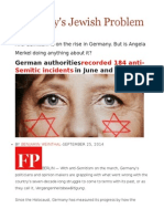 Germany's Jewish Problem