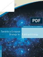 Towards a European Strategy for Nanotechnology, 2003