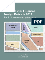 Challenges for European Foreign Policy in 2014