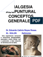 Analgesia Acupuntural Generalidades