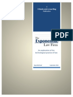 The Exponential Law Firm