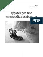 Appunti Per Una Grammatica Malgascia - Unfo