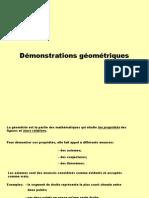 89_8600 Demonsatration Geometriques
