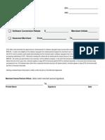 evo software conversion rebate form