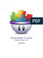 GameSalad Creator for Windows Manual 2012-11-01