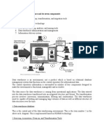FALLSEM2014 15 CP3958 17 Jul 2014 RM01 Data Warehouse Architecture and Its Seven Components