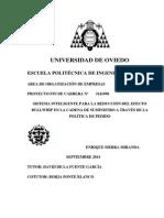 SISTEMA INTELIGENTE PARA LA REDUCCIÓN DEL EFECTO BULLWHIP EN LA CADENA DE SUMINISTRO A TRAVÉS DE LA  POLÍTICA DE PEDIDO