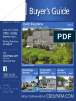 Coldwell Banker Olympia Real Estate Buyers Guide September 27th 2014